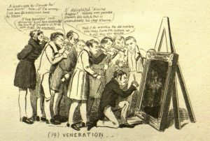 Faculty no. 19: Veneration [for the artist]