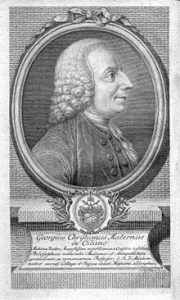 George Chistian Maternus de Cilano, Copper Engraving 1775