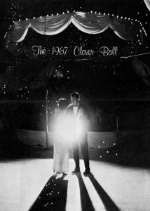 Clover Ball guests in 1967