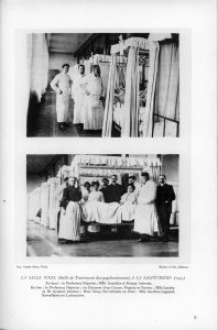 Pinel room for the treatment of psychoneuroses, Salpêtriére, 1905
