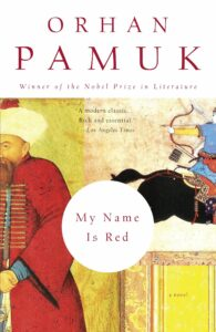 My Name is Red by Orhan Pamuk book cover