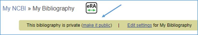 Make it Public Link