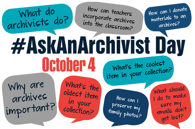 Ask an Archivist Day Promo Image