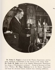 Arthur L. Hughes, MD (Image from The Hatchet yearbook, 1946)