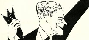 Caricature of Barry Goldwater, page 2, We are scared, Park J. White Papers