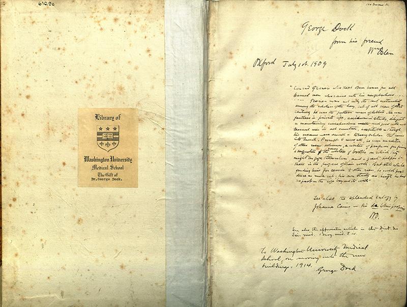 Historiae animalium by Gesner (Front Endsheet)