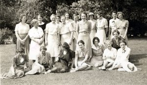 The female faculty members at Washington University School of Medicine, 1939