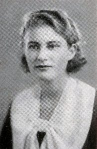 Ludmilla Suntzeff's Washington University senior class photograph, 1936.