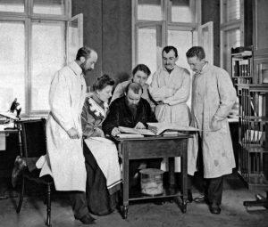 Korbinian Brodmann, Oskar Vogt, Cécile Vogt, Max Borchert, Max Lewandowsky, 1903