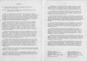 Memorandum regarding proposed 1972 American computer scientists trip to China.