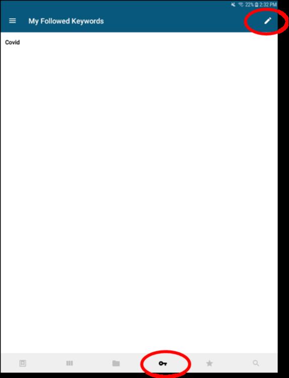 Screenshot of Read by QxMD app