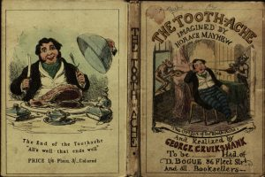 The tooth-ache, 1848.