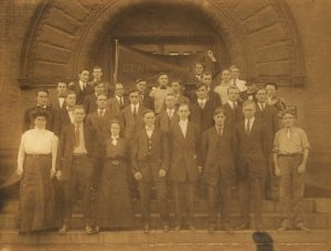 Washington University Dental Department, Class of 1911.