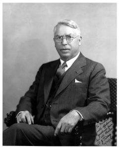 Robert Terry, first editor of the Medical Alumni Quarterly