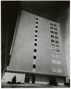 David P. Wohl, Jr. Memorial – Washington University Clinics Building, circa 1961