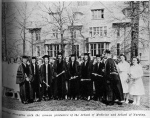 Female graduates, 1946